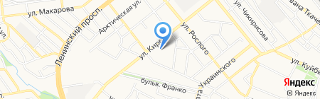 Городская стоматологическая поликлиника №2 на карте Донецка