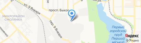 Кашалот на карте Донецка