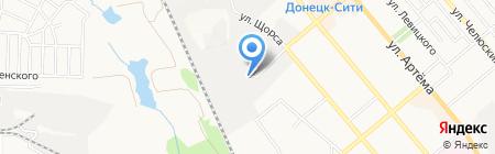 Patison на карте Донецка