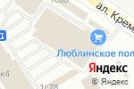 Схема проезда до компании Колизей Технологий в Москве