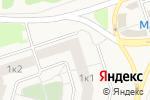 Схема проезда до компании Юность в Горках Ленинских