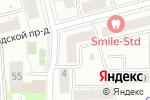 Схема проезда до компании Мактейлор в Москве