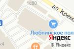 Схема проезда до компании Экоокна в Москве