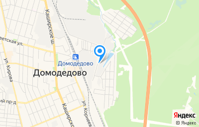 Местоположение на карте пункта техосмотра по адресу Московская обл, г Домодедово, мкр Центральный, ул Станционная, д 26