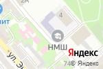 Схема проезда до компании Водник в Новороссийске