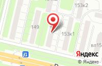 Схема проезда до компании Интера в Москве