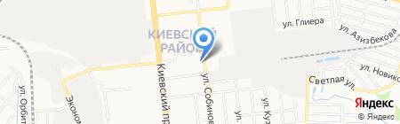 Для своих на карте Донецка