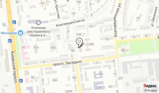 Киевский районный суд. Схема проезда в Донецке