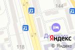 Схема проезда до компании Дуэт в Донецке