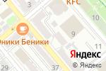 Схема проезда до компании PiterSmoke в Новороссийске