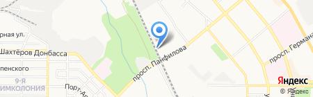 V.I.P. на карте Донецка