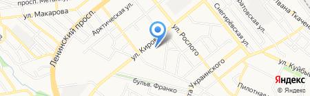 Мясная лавка на карте Донецка