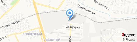 Гор и К ЧП на карте Донецка