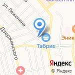 Булочная №8 на карте Новороссийска