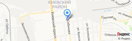 Донецкая общеобразовательная школа I-III ступеней №57 на карте Донецка