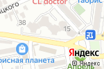 Схема проезда до компании Информатика Плюс в Новороссийске