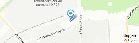 БВК на карте Москвы