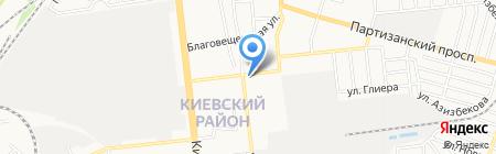 Гаврилівські курчата на карте Донецка