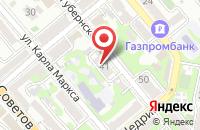 Схема проезда до компании Градъ в Новороссийске