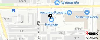 БМВМ на карте Москвы