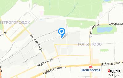 Местоположение на карте пункта техосмотра по адресу г Москва, ул Иркутская, д 7 стр 9