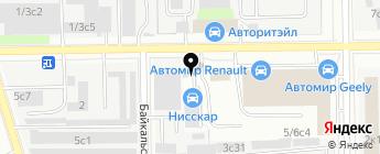 Avtosteklo-Pro на карте Москвы