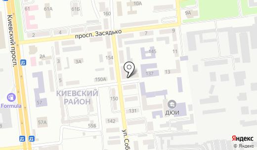 Киевская районная лечебница ветеринарной медицины. Схема проезда в Донецке
