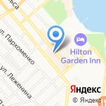 Магнит на карте Новороссийска