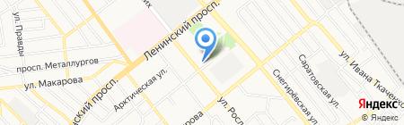 Школа искусств №7 на карте Донецка
