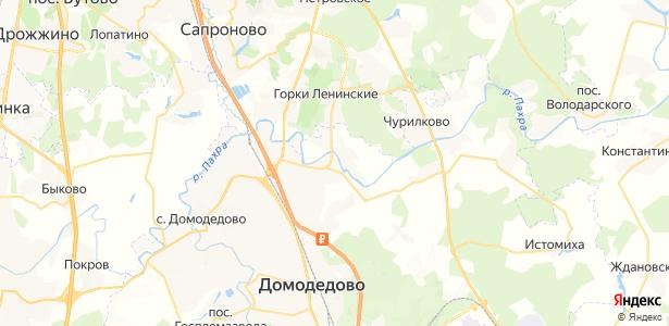 Новленское на карте