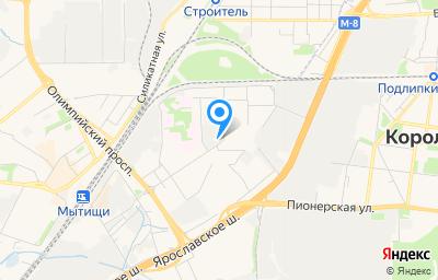 Местоположение на карте пункта техосмотра по адресу Московская обл, г Мытищи, ул Медицинская, д 4А