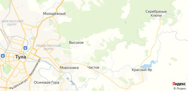 Новоселки на карте