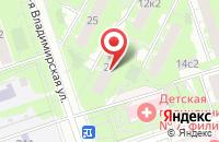 Схема проезда до компании Фантастика в Москве