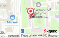 Схема проезда до компании Межрегиональная Организация Предпринимателей в Москве