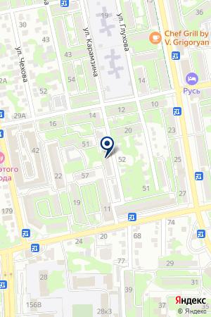 ОХРАННОЕ АГЕНТСТВО СКИФ на карте Новороссийска