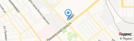 Донецкая специализированная школа I-III ступеней с углубленным изучением отдельных предметов и курсов №33 на карте Донецка