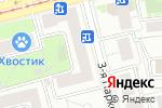 Схема проезда до компании Симпатика в Москве