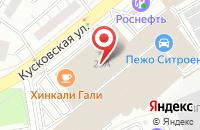 Схема проезда до компании Все для Котельных в Москве