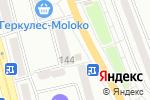 Схема проезда до компании Мясная лига в Донецке