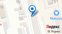 Компания Катье на карте