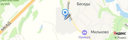 Гарнизон на карте Бесед