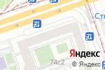 Схема проезда до компании Sweet mama в Москве
