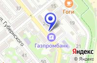 Схема проезда до компании СТРОИТЕЛЬНАЯ ФИРМА КАСПИЙ в Новороссийске