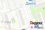 Схема проезда до компании Amore+Fiori в Москве