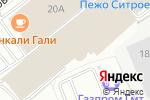 Схема проезда до компании Модерн в Москве