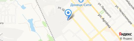 VR на карте Донецка