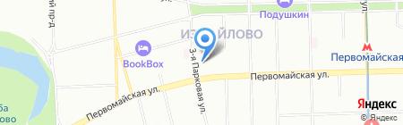Металл-кровати на карте Москвы