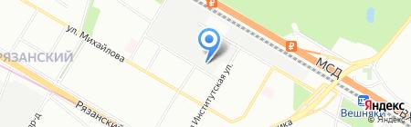 Промагро Сервис на карте Москвы