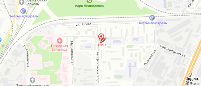 Карта расположения пункта доставки Халва в городе Мытищи