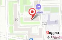 Схема проезда до компании Сити-Консалтинг в Москве